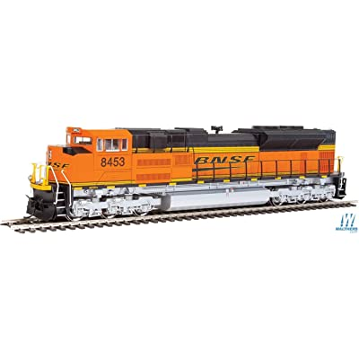 WalthersMainline EMD SD70ACe - DC - BNSF Railway #8453 (Orange, Black, Yellow: Wedge Logo): Toys & Games