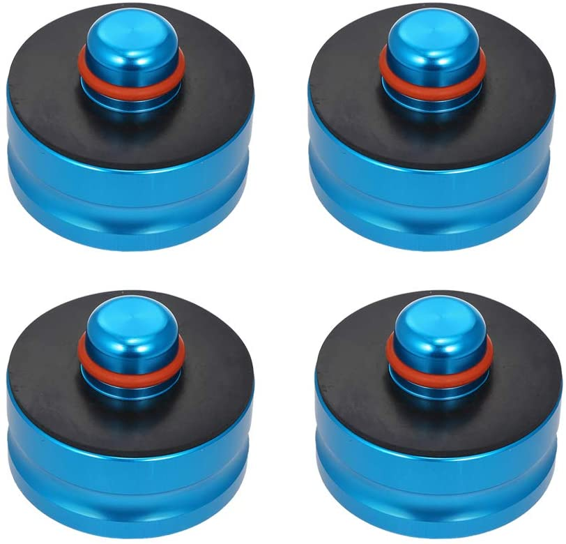 Blue, 1PCS Protect Car Jack from Damaging and Battery for Tesla Model 3 1pcs 4pcs Aluminum Solid Jack Lift Point Pad Adapter Jack Lifting Pad Tool Chassis DedicatedSafety Raising Tesla Driving