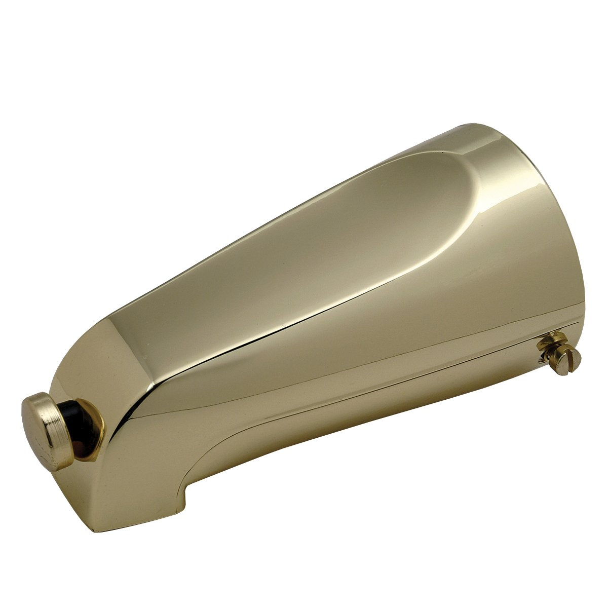 Brasscraft Mfg Mixet #71 Pb Bulk 51/8'' Quikspout SlipOn Diverter Tub Spout Polished Brass