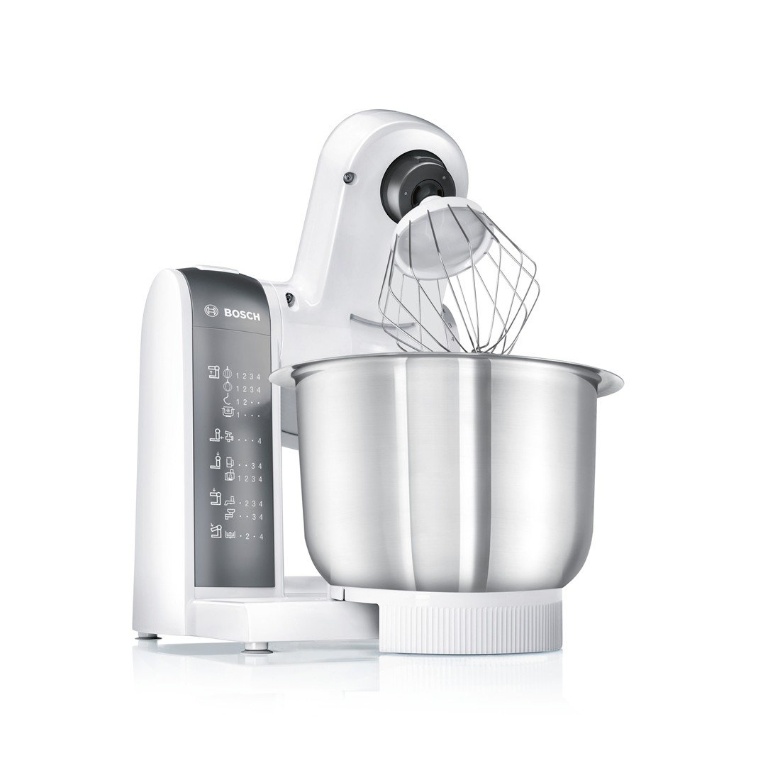 Amazon.de: Bosch MUM48120DE Küchenmaschine 600 W, 3, 9 L ...
