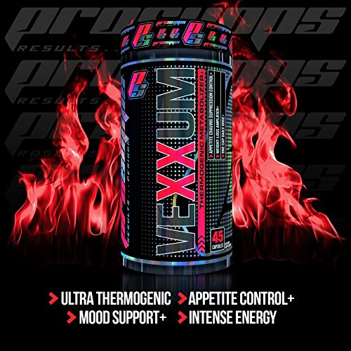 PRO SUPPS Vexxum Thermogenic Metabolizer, 45 Count