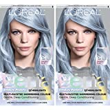 L'Oreal Paris Feria Pastels Hair Color, Sapphire Smoke, 2 Count