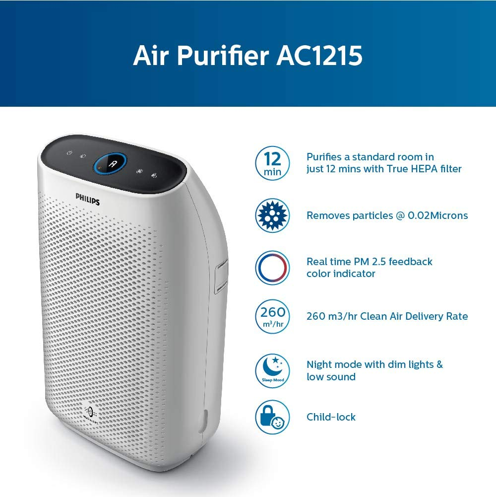 Air Purifier Philips AC1215 review