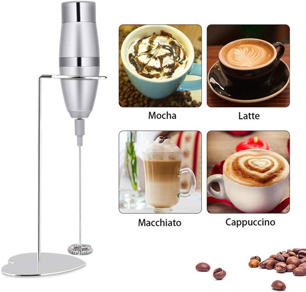 Red tide Leche Licuadora - Leche Vaporizador, 19000 RPM Handheld Eléctrico Espuma Maker para Hacer Lattes Café, Capuchinos, Chocolates Calientes, como Creamer,: Amazon.es: Hogar