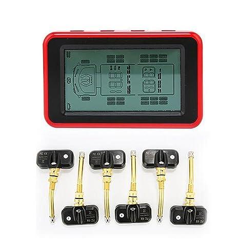 LPY-Sistema de monitoreo de la presión de los neumáticos de la exhibición del LCD