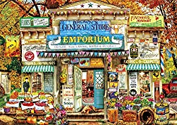 Buffalo Games - Aimee Stewart - Americana Collection - Brown's General Store - 500 Piece Jigsaw Puzzle