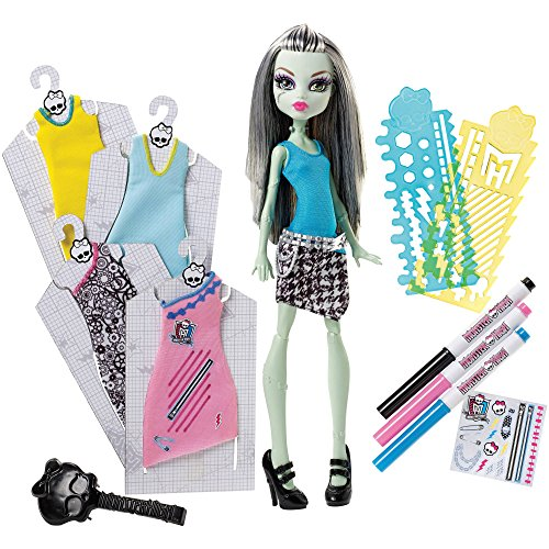 Monster High Dolls For Sale Cheap - Monster High Designer Booo-Tique Frankie Stein Doll and Fashions
