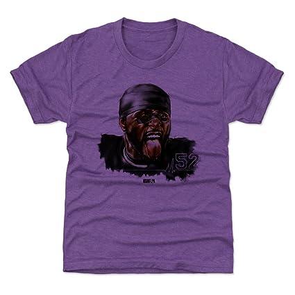dfa2a3f7 Amazon.com : 500 LEVEL Ray Lewis Baltimore Football Kids Shirt - Ray ...