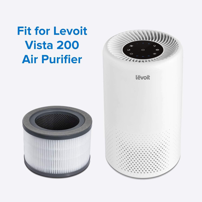 Levoit Filtro Ricambio Originale per Modello Vista200 Purificatore Aria