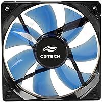 Cooler Fan Storm 12 Cm Led, C3Tech, F7-L100Bl, Acessórios para Computador