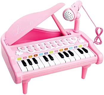 Love&Mini Pink Keyboard Piano Toy