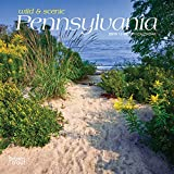 Pennsylvania, Wild & Scenic 2019 7 x 7 Inch Monthly Mini Wall Calendar, USA United States of America Northeast State Nature (Multilingual Edition)