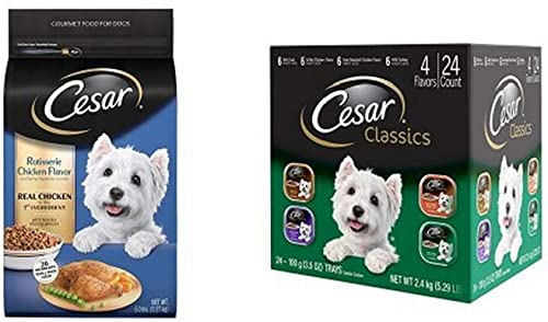 Cesar Small Dog Food Variety Pack