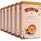 Baileys Nespresso Compatible Coffee Pods Original Irish Cream Australian Packed - 60 Pods (6x10 Pods Pack)