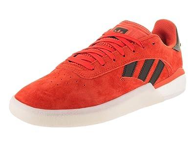 check out 6533e 00d57 Amazon.com  adidas 3ST.004 (OrangeBlackWhite) Mens Skate Shoes  Shoes
