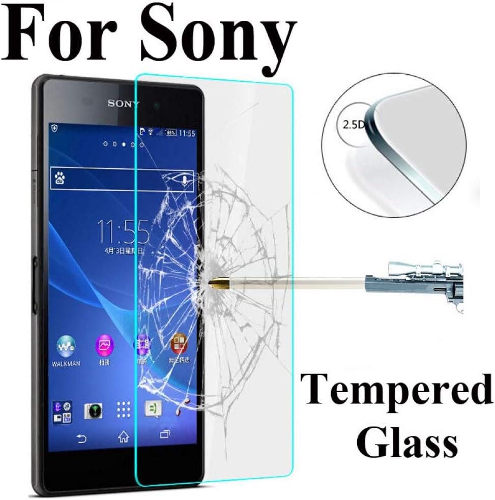YswuJ (Paquete de 2 Vidrio Templado para Sony Xperia Z1 Z2 Z3 Z4 ...