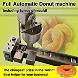 Yoli® Commercial Automatic Donut Machine,stainless Steel Donut Maker/fryer,donut Making Machine,wider Oil Tank,one Size Mold