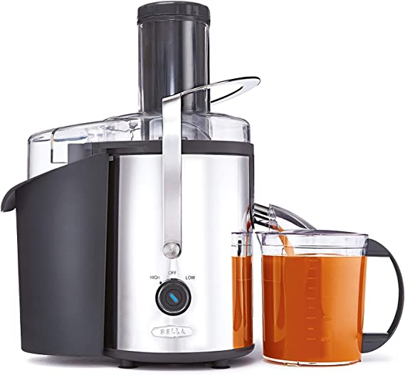 BELLA (13694) High Power Juice Extractor with Dishwasher Safe Filter & Pulp Container