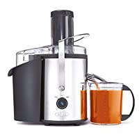 BELLA (13694) High Power Juice Extractor with Dishwasher Safe Filter & Pulp Container, Stainless Steel
