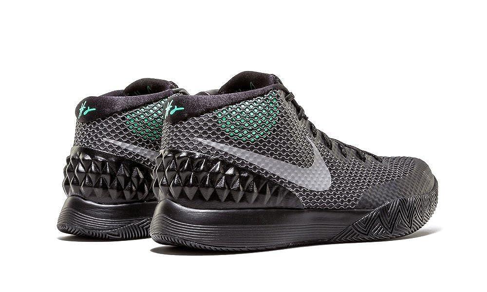 Amazon.com   Nike Kyrie 1 Men's Shoes Black/Reflect Silver-Dark Grey-Green  Glow 705277-001   Basketball