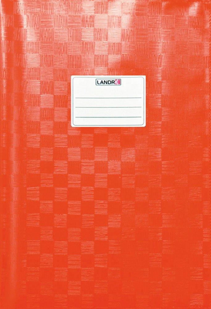 Landre 100420064 - Copertina per quaderno, formato DIN A4, in PVC con stampa effetto rafia, 10 pezzi, colore: Violetto Hamelin Brands