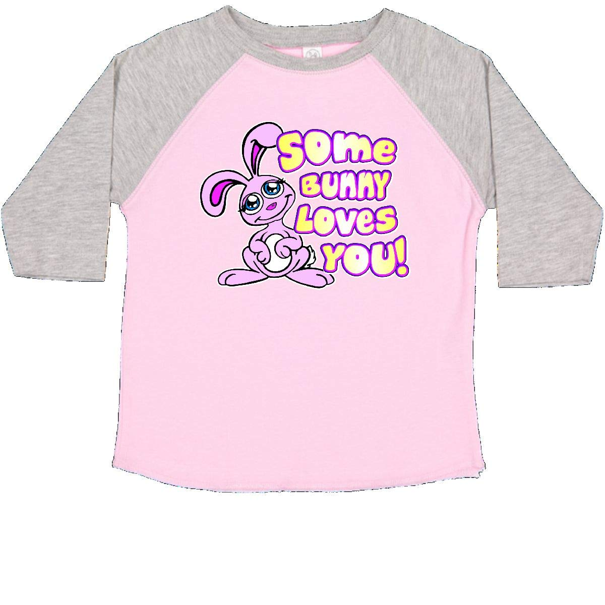 inktastic Some Bunny Loves You Toddler T-Shirt