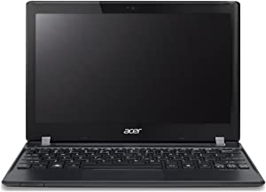 "Acer B113-M-6812 TravelMate Laptop (Windows 8, Intel i3-2375M Dual Core 1.5GHz Processor, 11.6"" (1366x768) Display, SSD: 500 GB, RAM: 4 GB DDR3) Black"