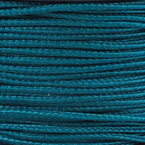 (PARACORD PLANET Micro Cord 1.18mm Diameter 125 Feet Spool of Braided Cord - Available in a Variety of Colors Made in The USA (Dark Green))