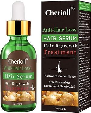 Hair Serum, Hair Treatment Serum Oil, Hair Loss &Hair Thinning Treatment, Hair Growth Oil for Stronger, Thicker, Longer Hair (30ml)
