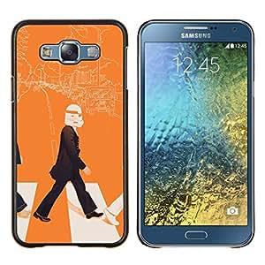Cubierta protectora del caso de Shell Plástico    Samsung Galaxy E7 E700    Arte Lennon Storm Trooper Pop @XPTECH
