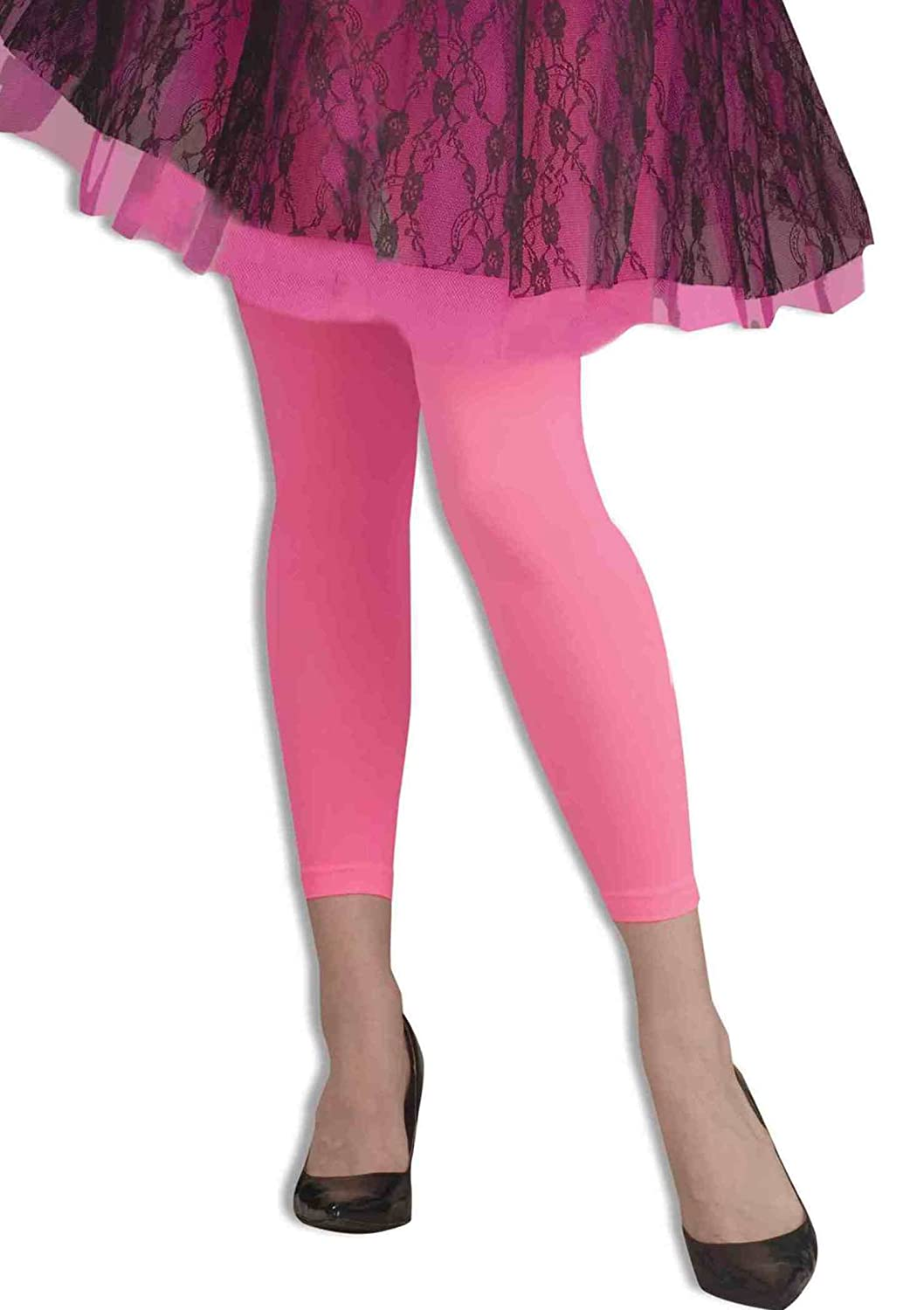6e03f491de012 Footless Neon Tights PINK Fancy Dress: Amazon.co.uk: Toys & Games