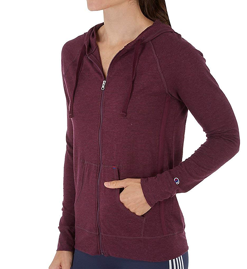 Champion Women's Heathered Jersey Jacket J4165