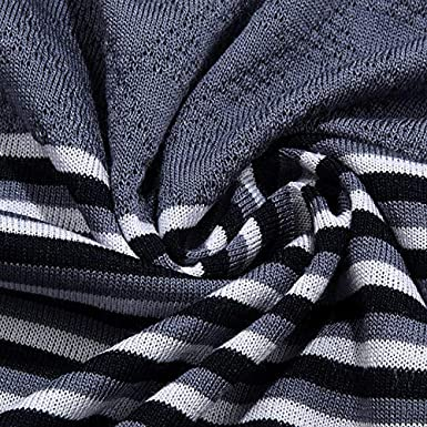 NSEFZMZ Striped Short Sleeve Polo Shirt Men Poloshirt Jersey Mens Polos Tee Shirts Dress