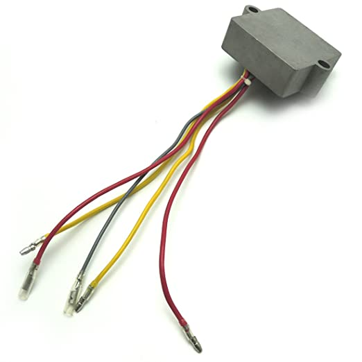 amazon com: 815279 rectifier regulator fits mercury mariner outboard 5 wires  815279t: automotive
