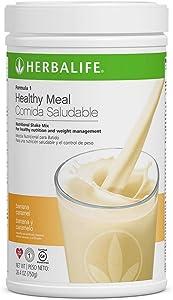 Herbalife Formula 1 Healthy Meal Nutritional Shake Mix (10 Flavor) (Banana Caramel)