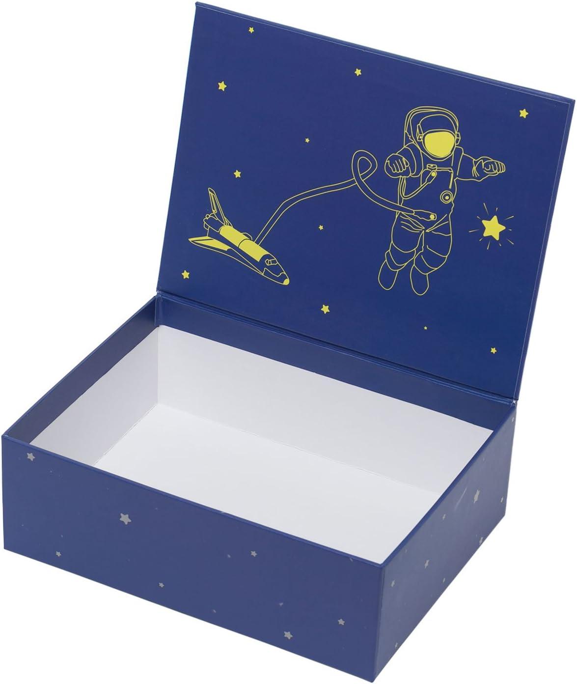 Creibo CBOX002 - Caja Cartón Decorada Estrellas: Amazon.es: Hogar