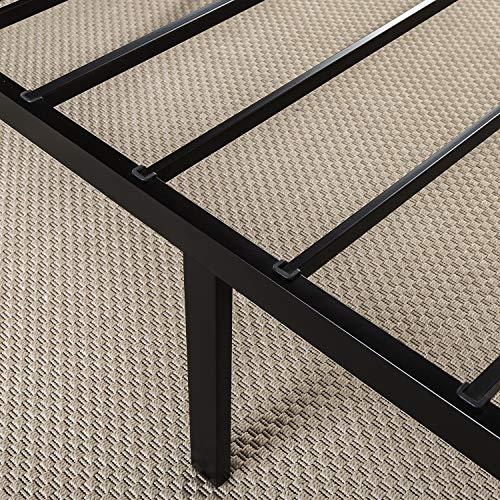 Zinus Abel 14 Inch Metal Platform Bed Frame with Steel Slat Support, Mattress Foundation, King