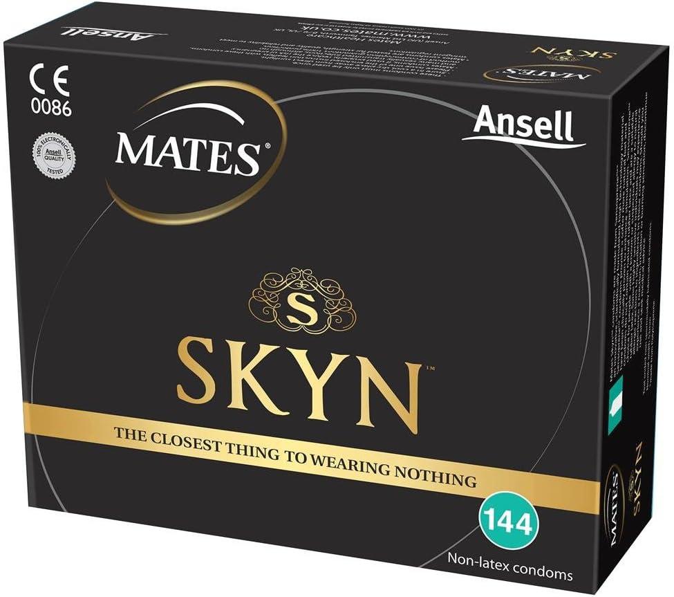 Mates Skyn Condones originales sin látex- Pack de 144: Amazon.es ...