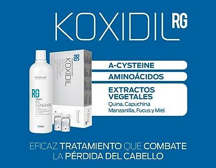 Kosswell,Neceser tratamiento anticaida champú 250 ml + ampollas Koxidil 12X6 ml