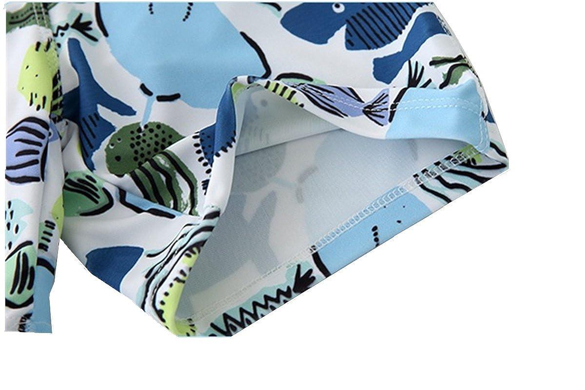 Little Kid Boy Swimsuit Swimwear Two Pieces Rash Guards Baby Bathing Suit Sun Protection 2-8t