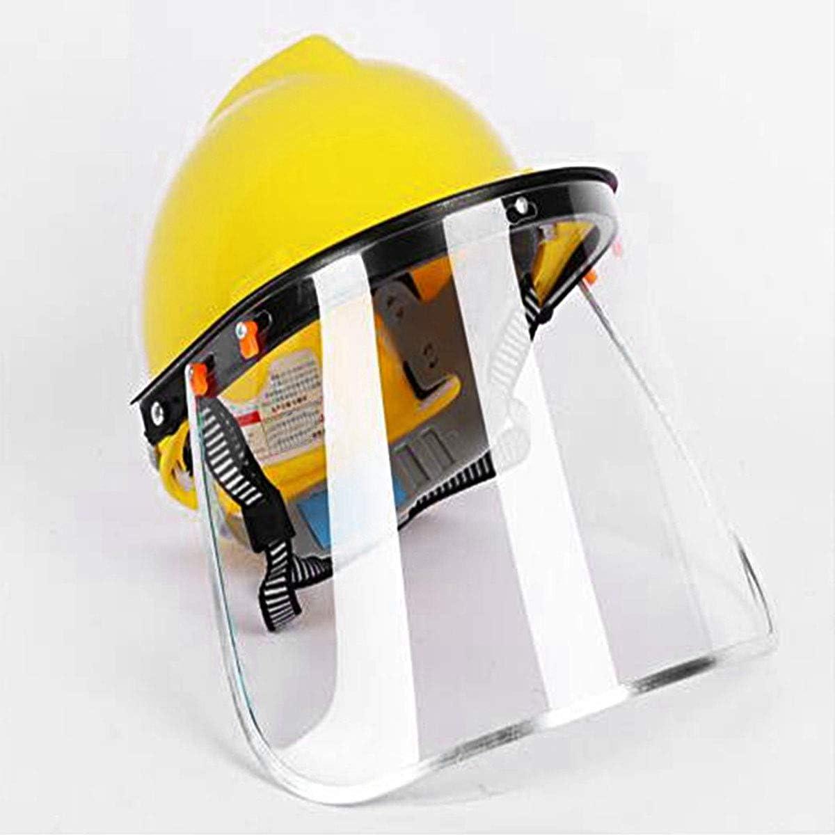 CHICTRY - 2 protectores faciales de seguridad transparentes de ...