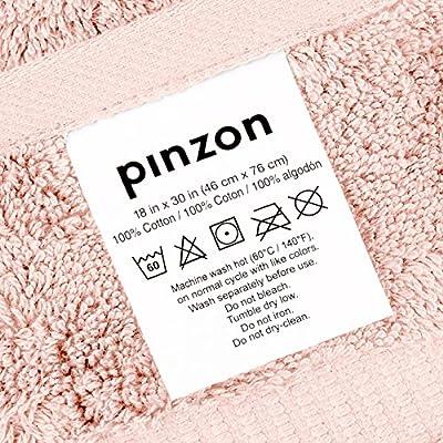 Pinzon Organic Cotton Bath Towels (4 Pack)