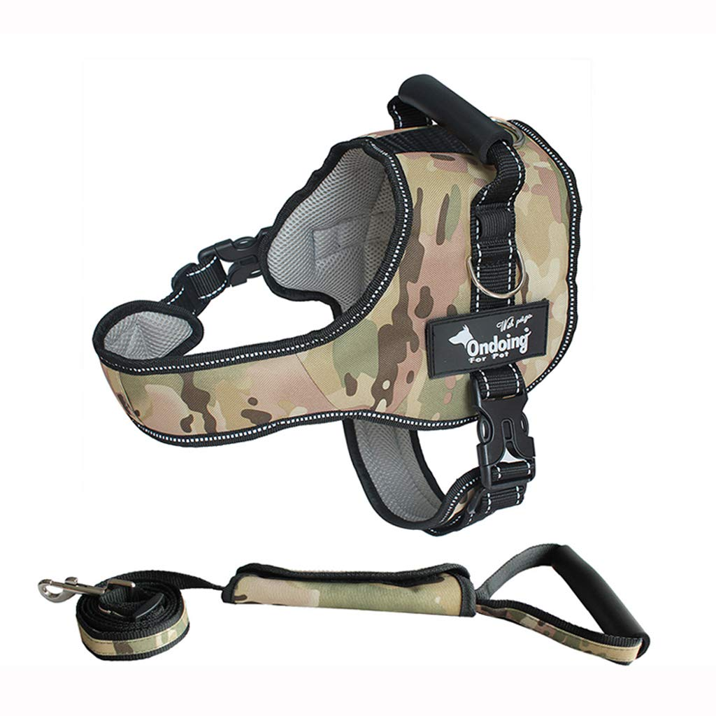 B Small B Small Dog leash dog vest-style straps chest straps out small, medium and large dogs with traction rope S