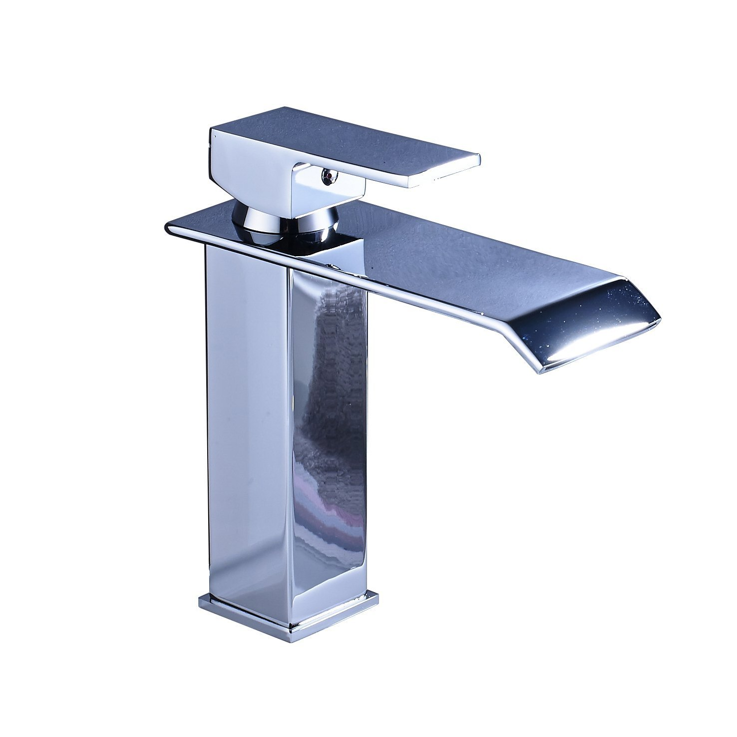 Rozin Deck Mount Single Hole Bathroom Vessel Sink Faucet One Handle ...