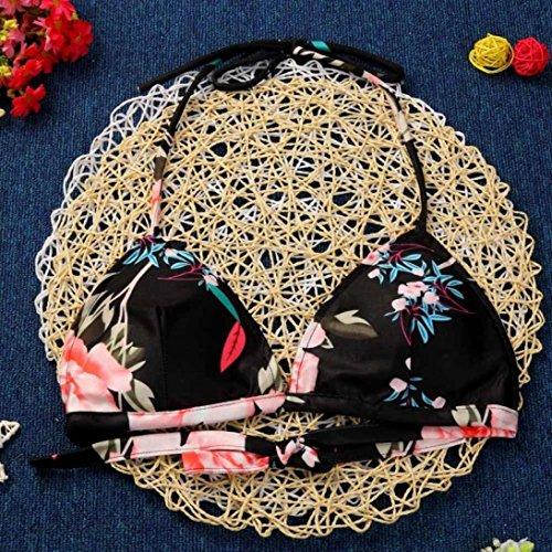 Costumi Donna Coordinati Mare Bikini Uncinetto Con Floreale da Donna Summer Imbottito Blu UomoGo pHqgFp