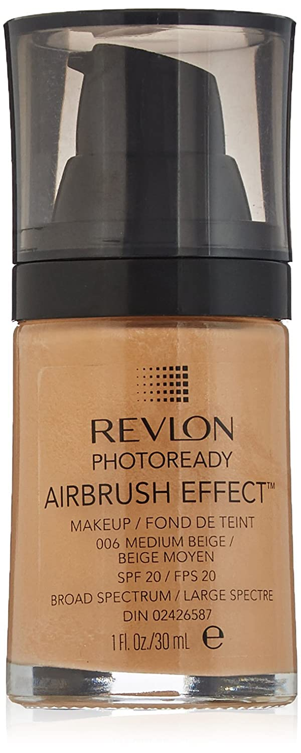 Revlon PhotoReady Airbrush Effect Makeup, Natural Beige 7213130005
