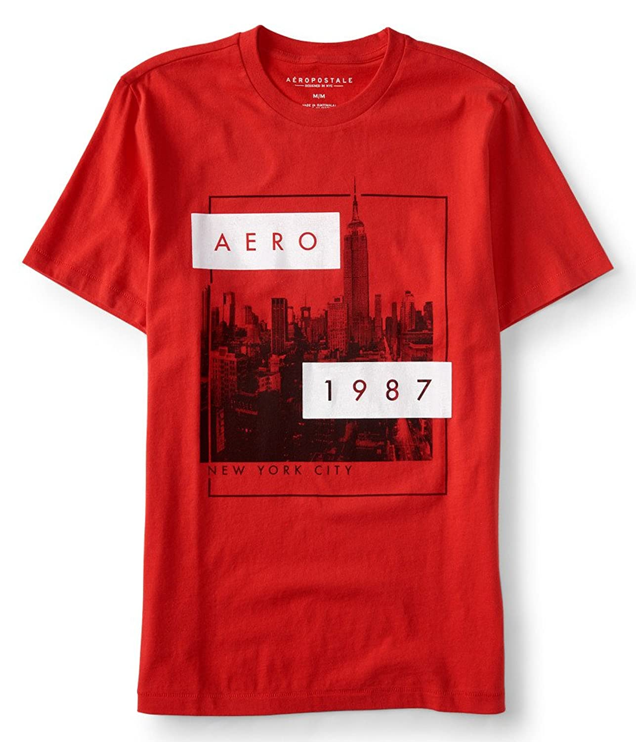 Aeropostale Men's Aero Empire Logo Graphic T Shirt