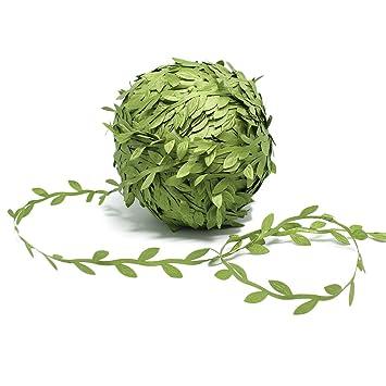 77 mètres vert olive artificielle feuilles feuilles de lierre ...