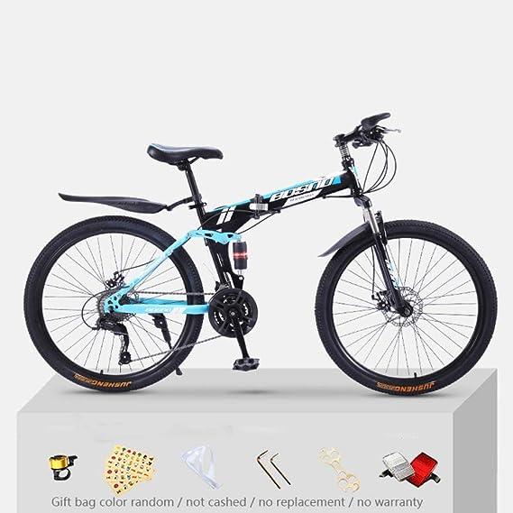 KNFBOK bicicleta mujer paseo Bicicleta de montaña para adultos, 21 ...