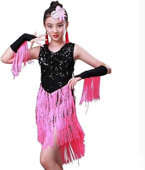 Trajes de Baile Latino para Niños Falda de Baile Latino Disfraces ...